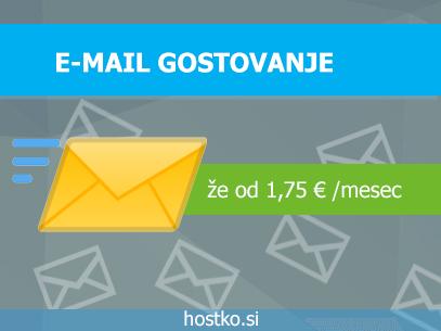 Gostovanje elektronske pošte - HOSTKO